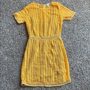 A yellow Michael Kors dress